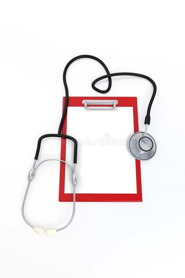 Strumenti del medico illustrazione di stock