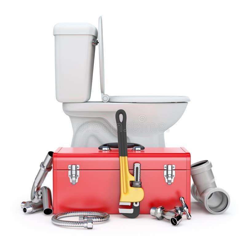 Strumenti dell'idraulico royalty illustrazione gratis