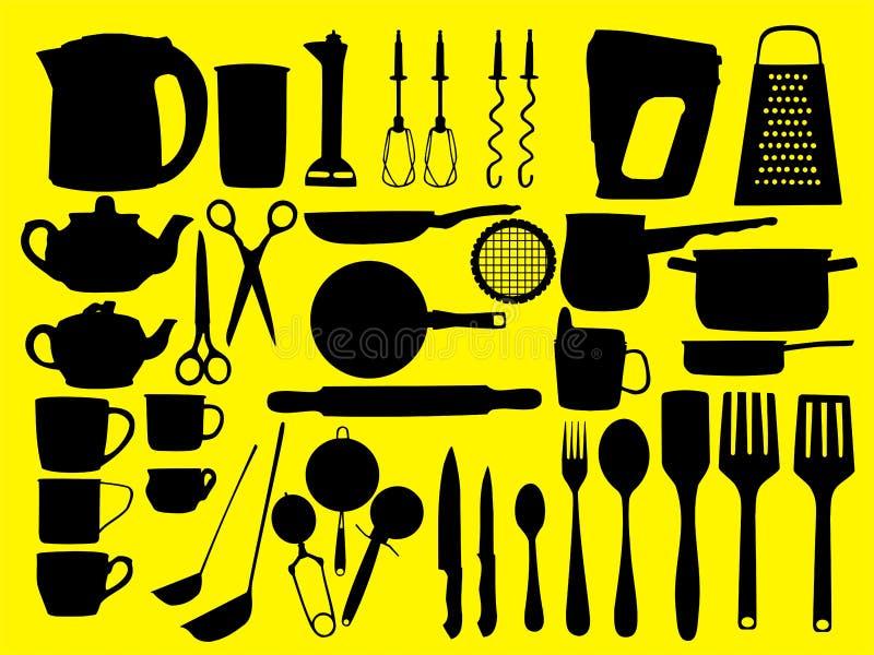Strumenti della cucina illustrazione vettoriale for Strumenti di cucina