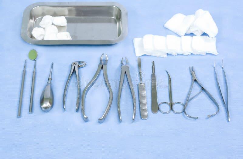 Strumenti dentali fotografia stock
