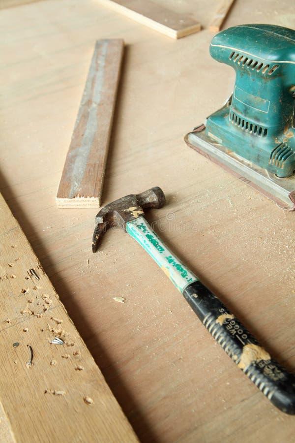 Strumenti di carpenteria immagine stock libera da diritti