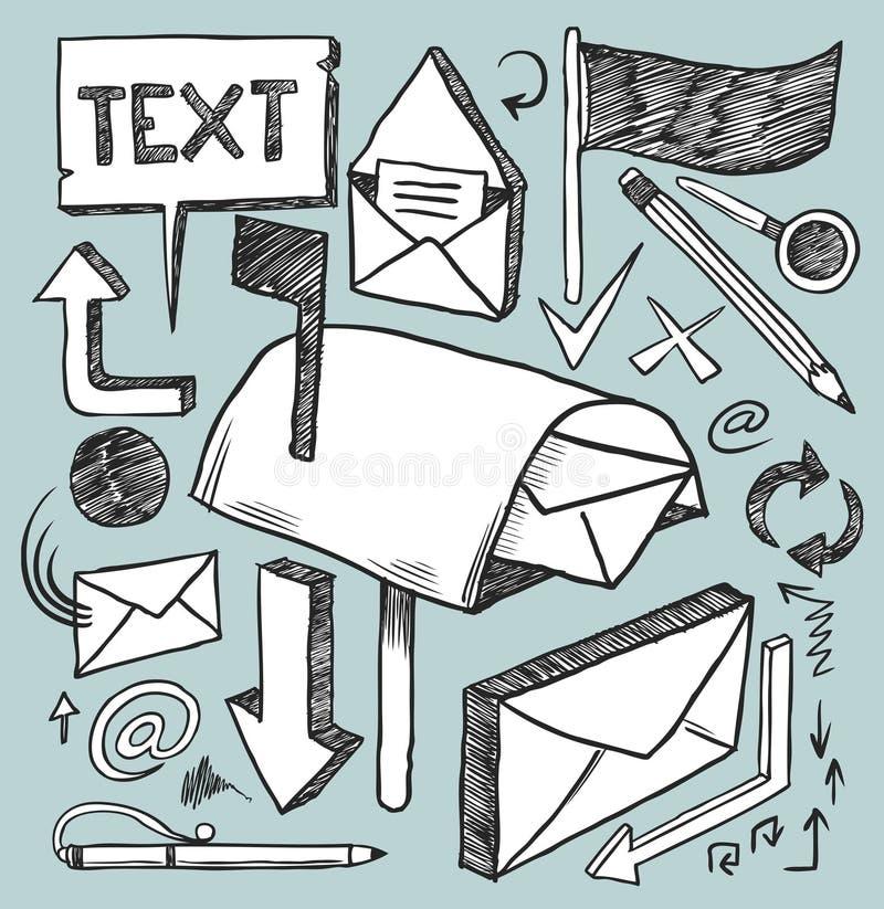 Strumenti di comunicazione royalty illustrazione gratis