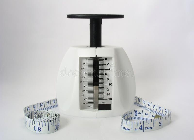 Strumenti di perdita di peso fotografie stock libere da diritti