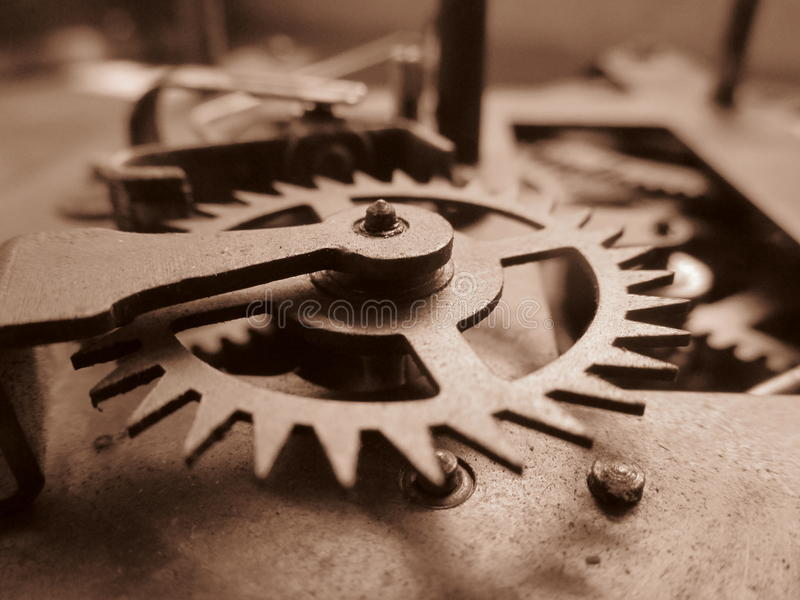 Strumenti, macchina, ingegneria d'annata, retro sguardo fotografia stock libera da diritti