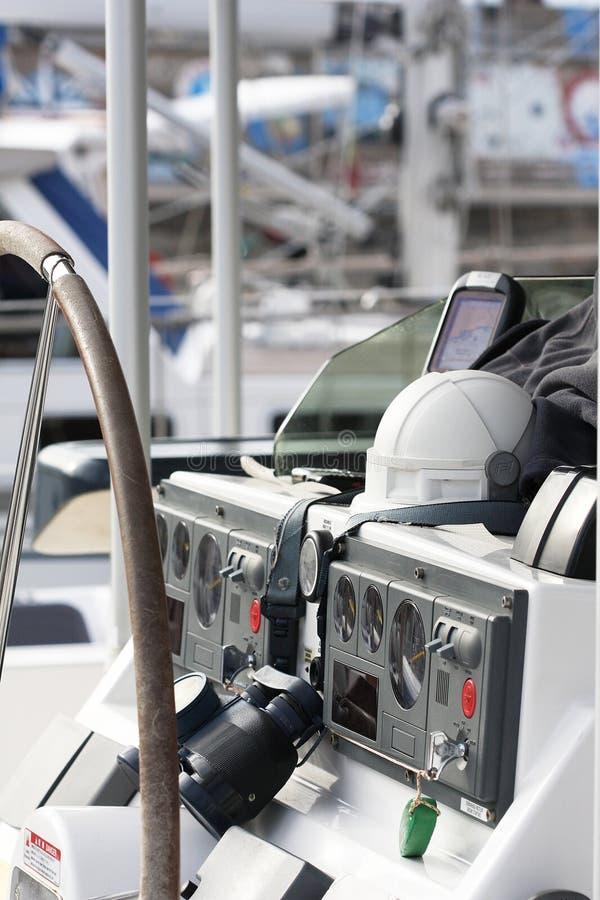 Strumenti su una barca a vela immagine stock libera da diritti