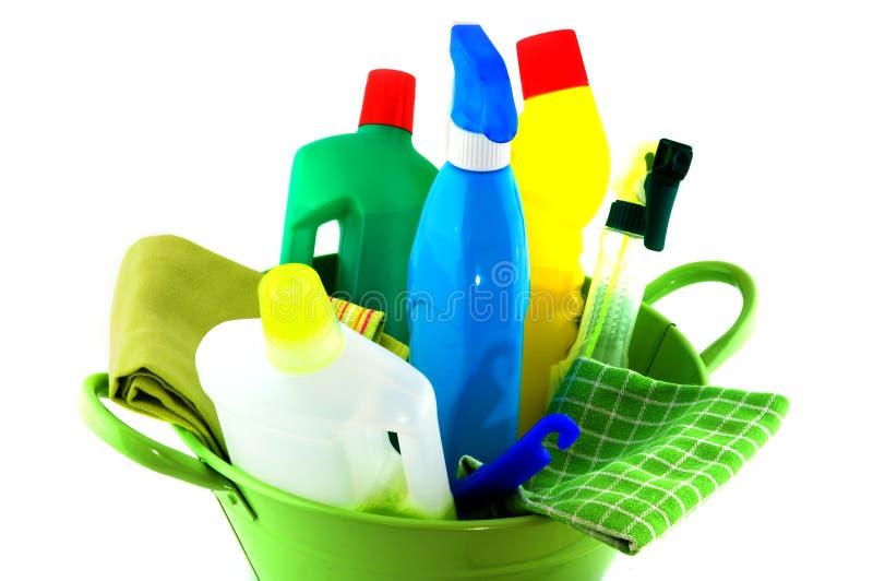 Strumenti totali per pulizia fotografie stock