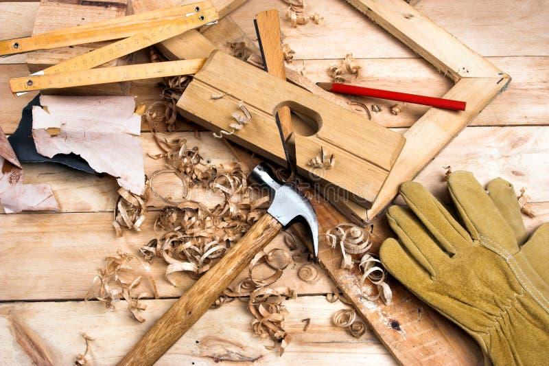 Strumento del carpentiere immagini stock libere da diritti