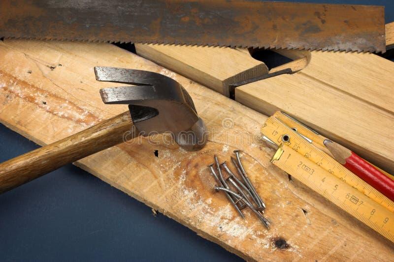 Strumento del carpentiere fotografia stock libera da diritti