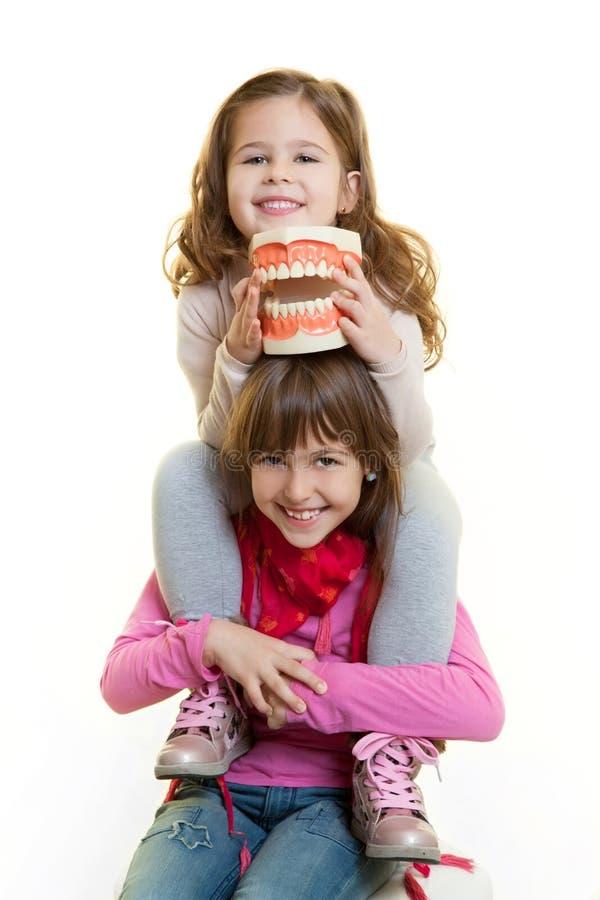 Strumento del dentista fotografie stock libere da diritti