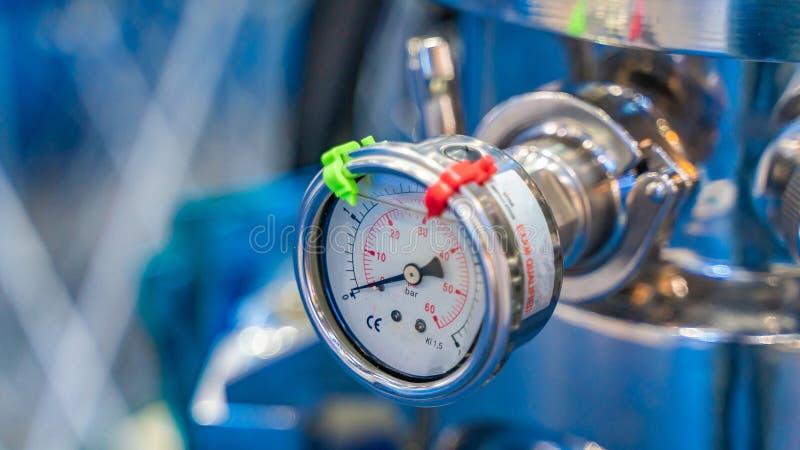 Strumento dello strumento della valvola a gas del laboratorio immagini stock libere da diritti