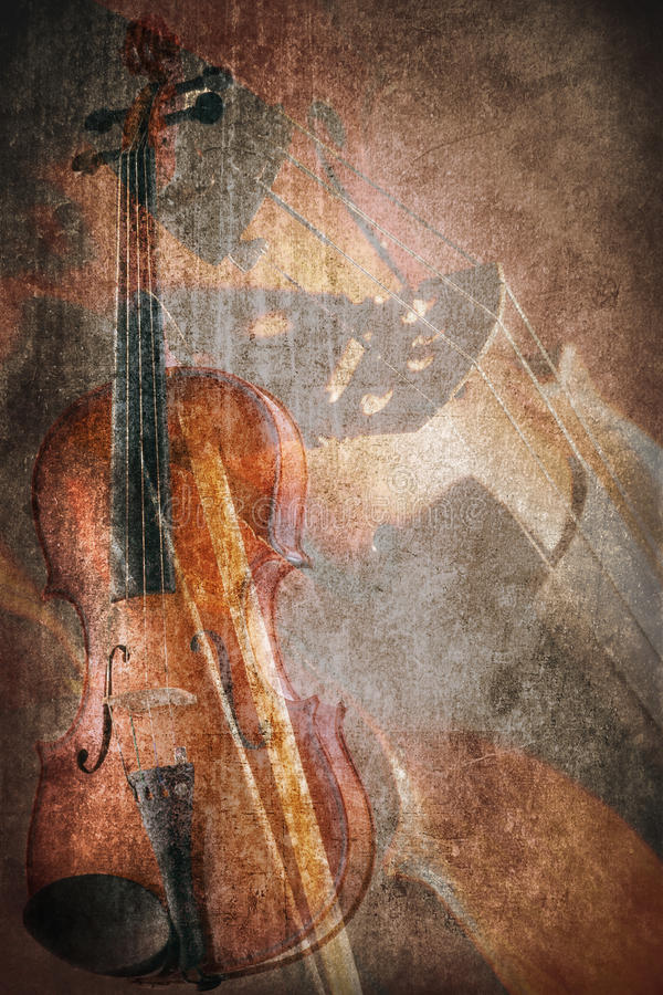 Strumento di musica di lerciume illustrazione vettoriale