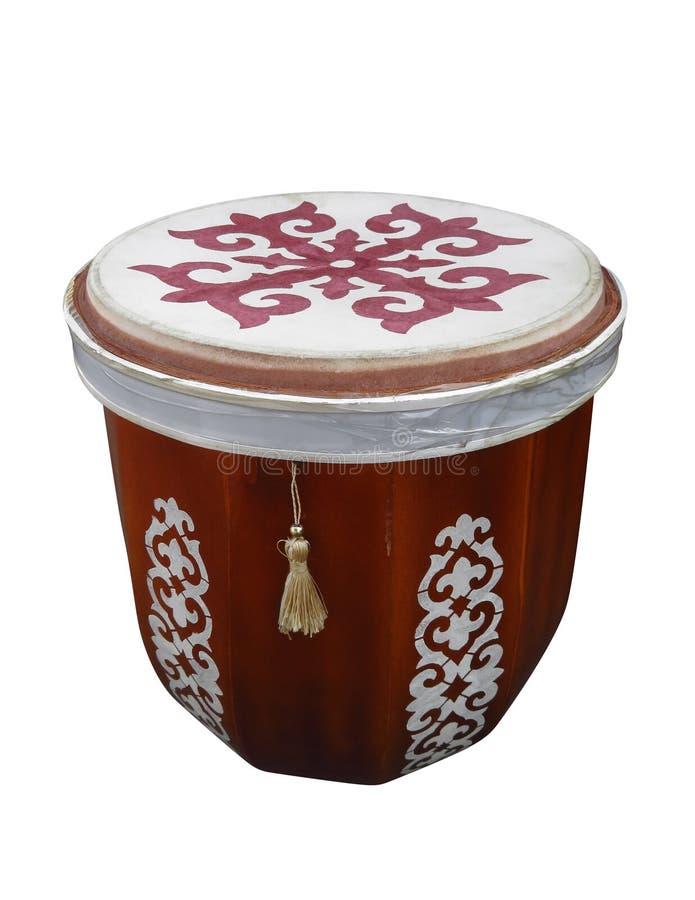 Strumento musicale piega kazako di Tabula fotografia stock libera da diritti