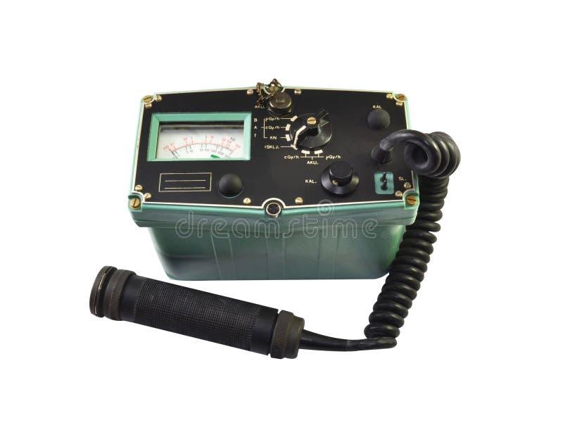 Strumento utilizzato per la misurazione della radiazione ionizzante immagini stock