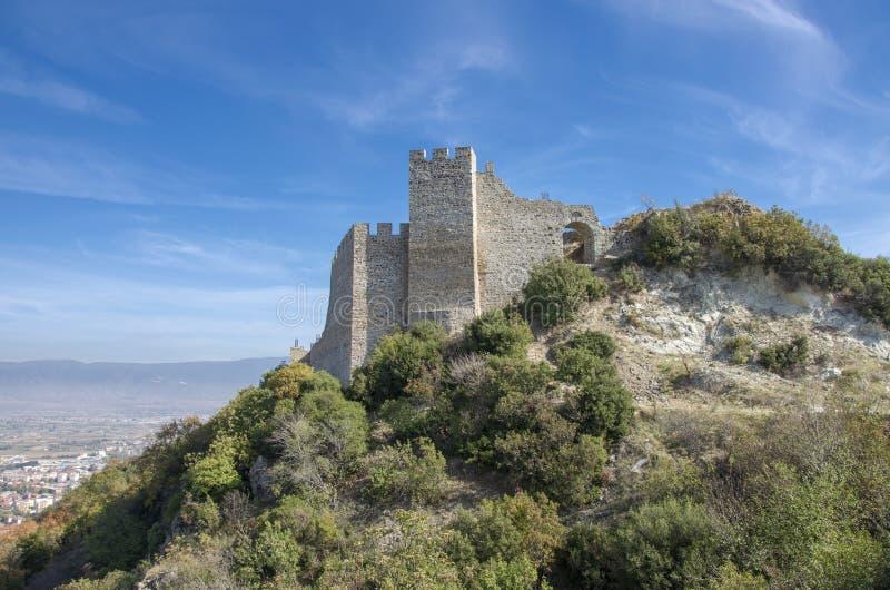 Strumica, Macedonië - Carevi Kuli stock afbeeldingen