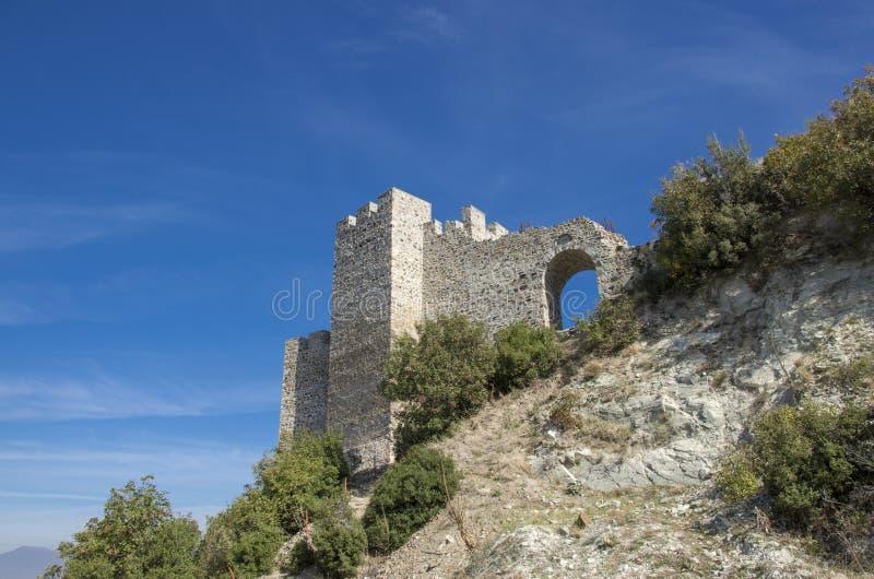 Strumica, Macedonië - Carevi Kuli stock foto's