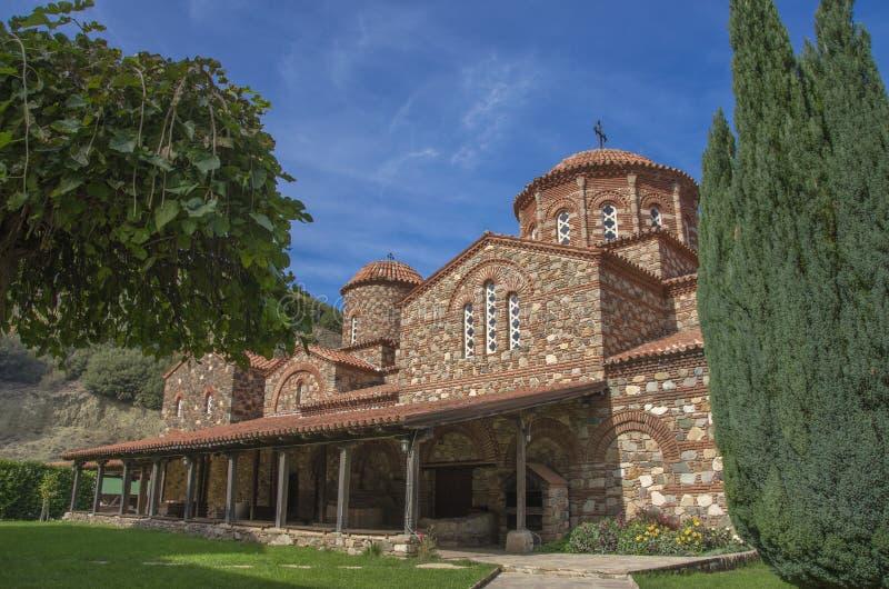 Strumica, Macedonië - Vodocha-Klooster royalty-vrije stock foto's