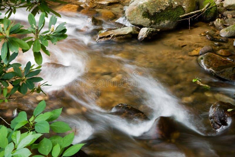 strumień wody bieżącej obrazy stock