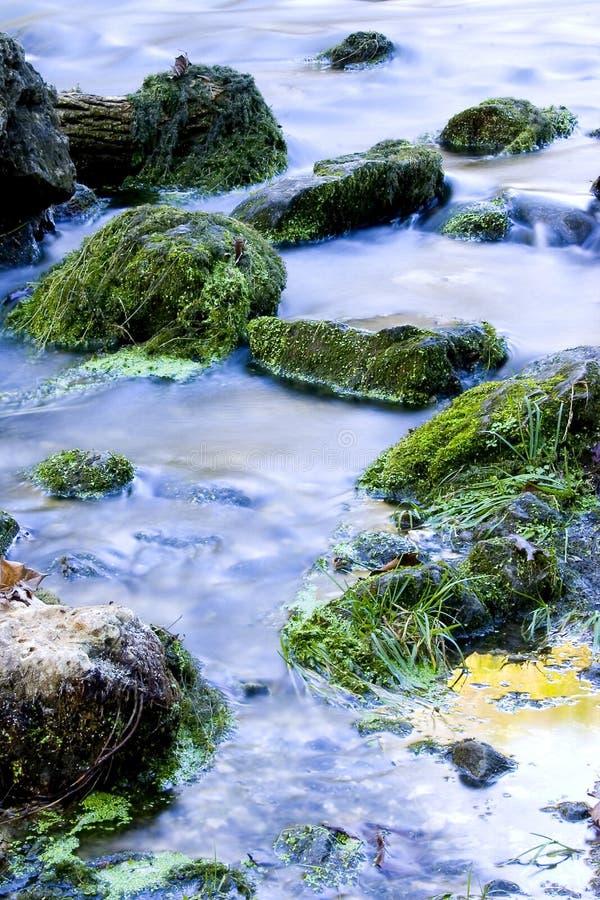 Download Strumień zdjęcie stock. Obraz złożonej z skały, mokry, soft - 41618