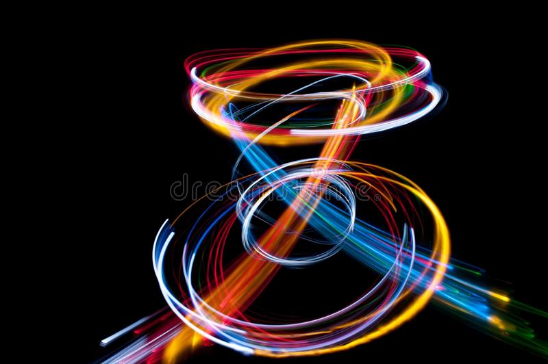 Strung with light royalty free stock images