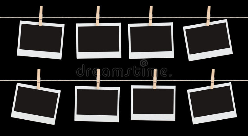 Download Strung Up Memories stock image. Image of copyspace, isolated - 24611885