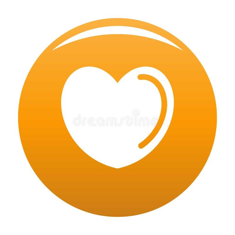 Struta kierowa ikony pomarańcze royalty ilustracja