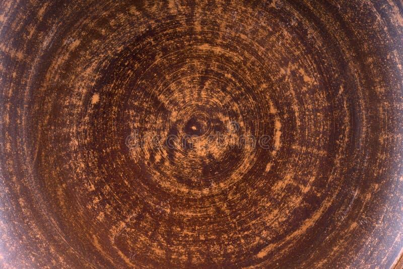 Struttura al forno del fondo della parete dell'argilla immagini stock libere da diritti