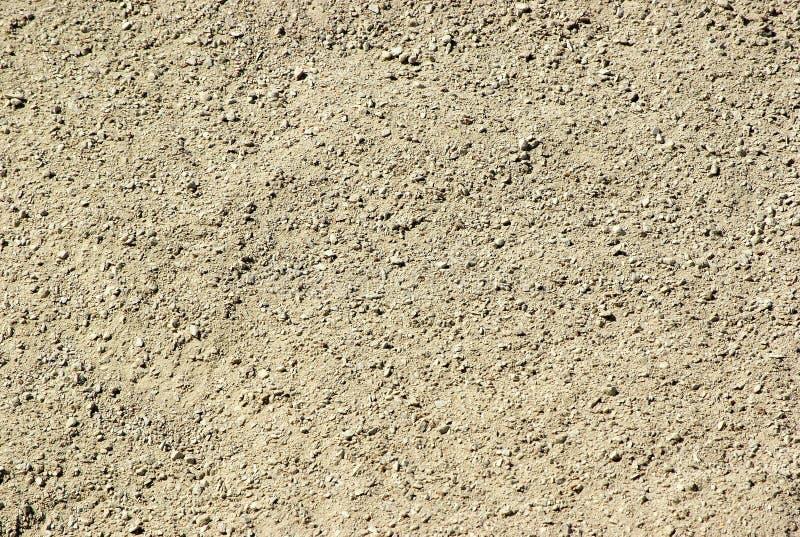 Struttura al suolo della sabbia fotografia stock libera da diritti