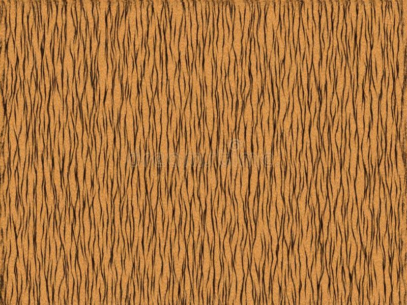 Struttura animale della pelliccia - arancio della tigre illustrazione di stock
