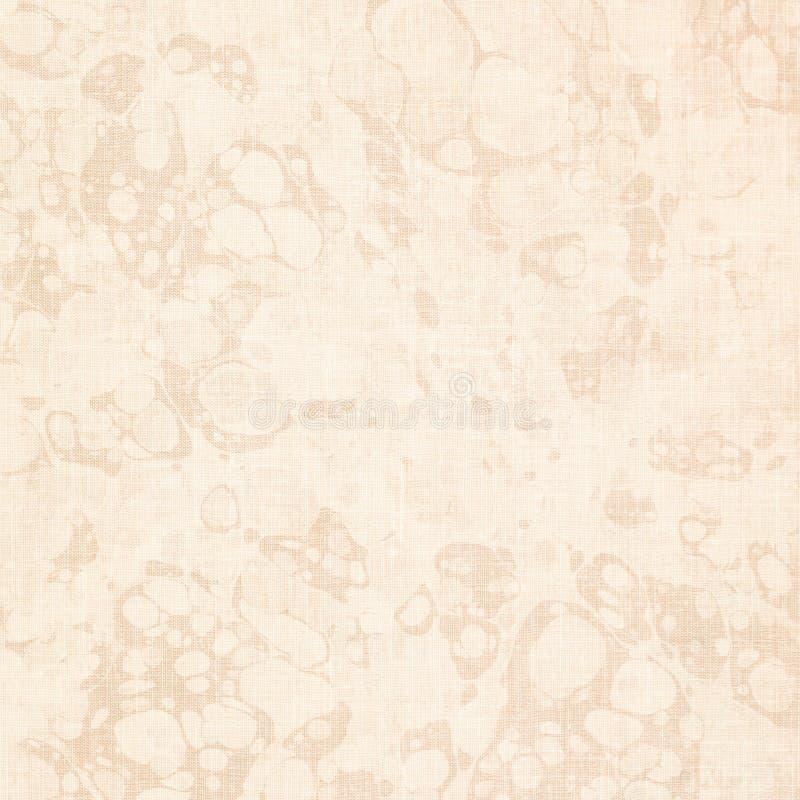 Struttura antica del documento del reggilibro marmorizzata crema fotografia stock