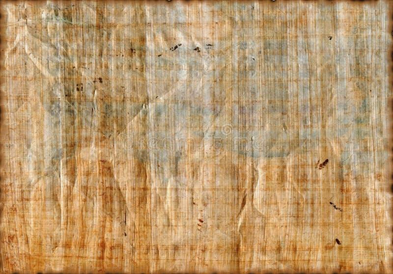 Struttura antica del papiro fotografia stock