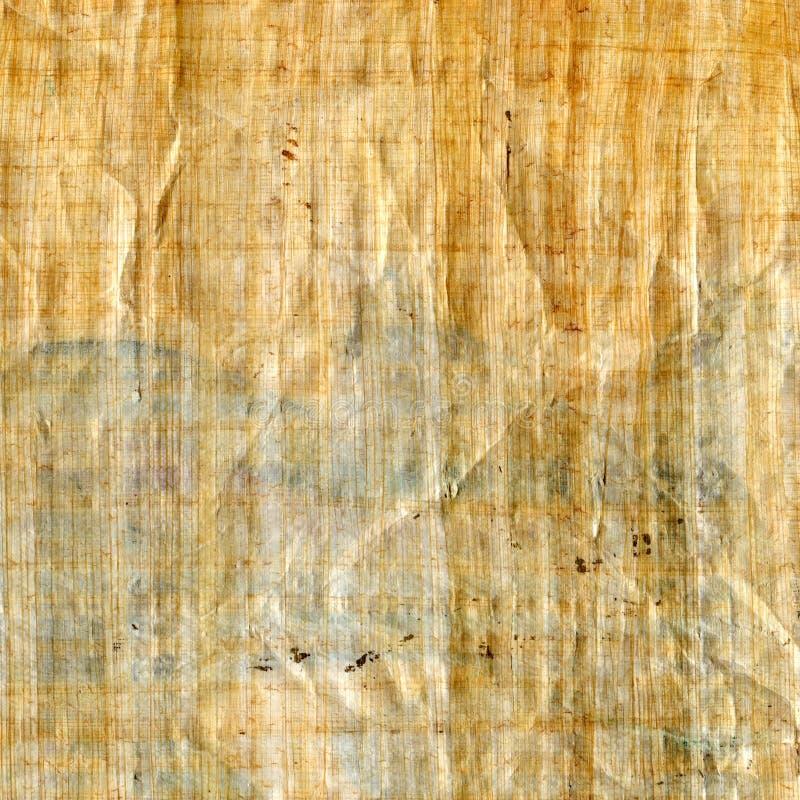 Struttura antica del papiro a priorità bassa fotografia stock