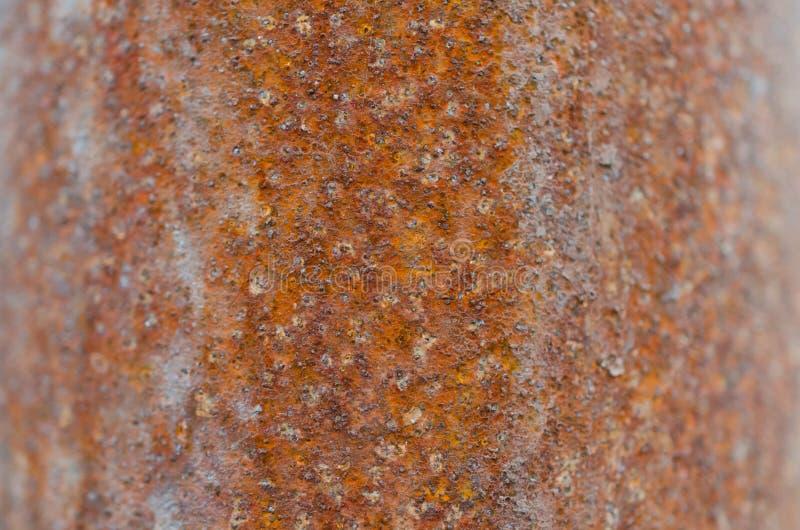 Struttura approssimativa arrugginita della superficie di metallo fotografie stock libere da diritti