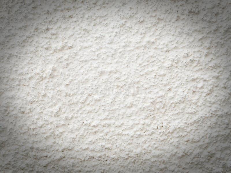 Struttura approssimativa bianca della parete del cemento immagine stock libera da diritti