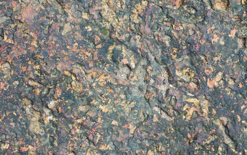 Struttura approssimativa della priorità bassa della roccia della pietra del granito fotografia stock
