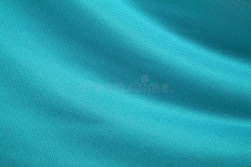Struttura Aqua-Verde del tessuto fotografia stock libera da diritti