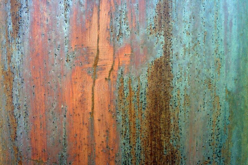 Struttura arrugginita del metallo di Grunge immagini stock libere da diritti