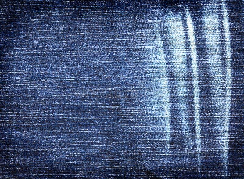 Struttura astratta del denim del fondo dei jeans immagini stock