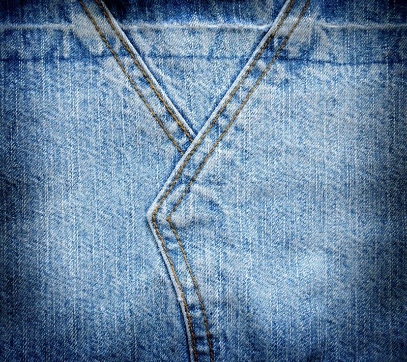 Struttura astratta del denim del fondo dei jeans fotografia stock