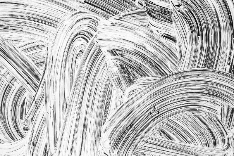 Struttura astratta del fondo di rinnovamento, pittura bianca fotografia stock libera da diritti