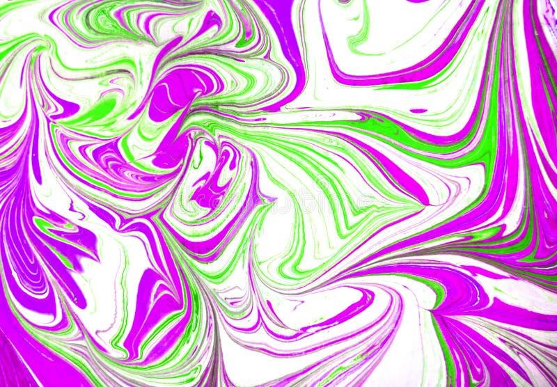 Struttura astratta della pittura fluida variopinta, tecnica di arte fotografia stock libera da diritti