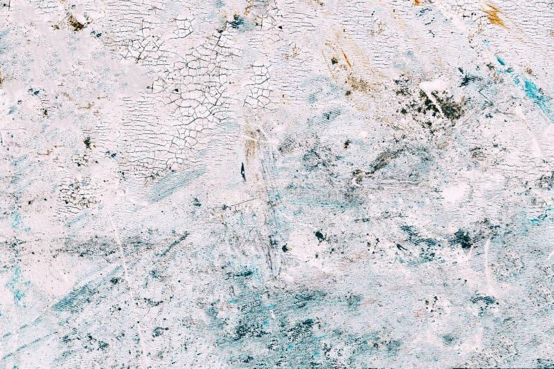 Struttura astratta della pittura su tela per progettazione fotografia stock