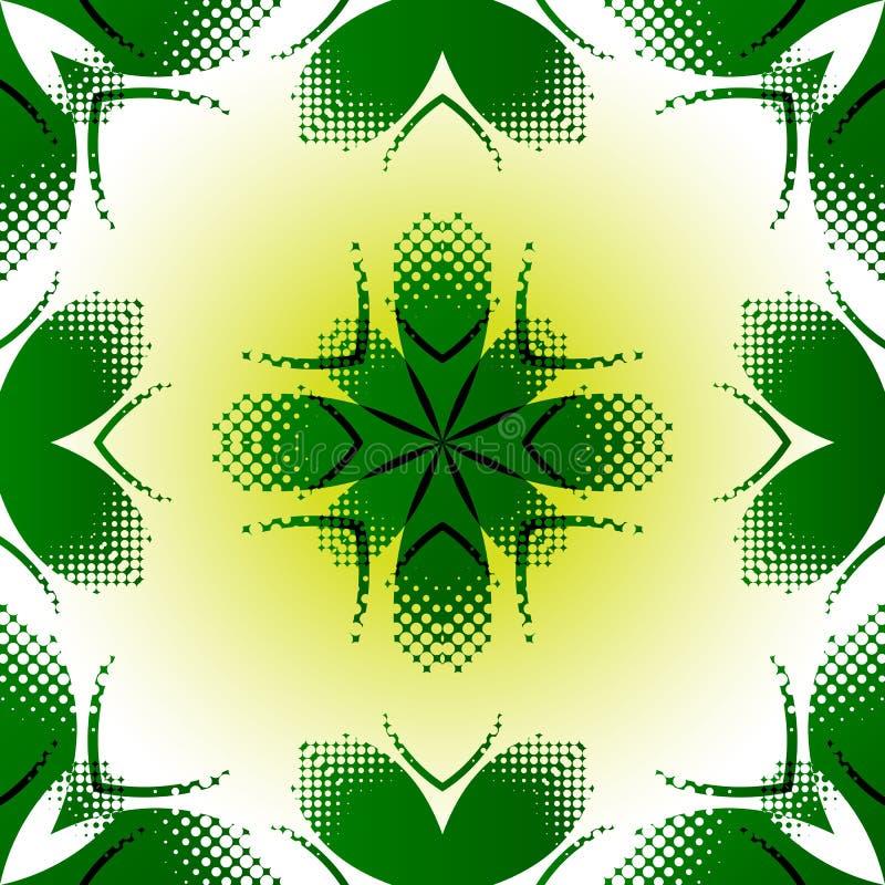 Struttura astratta geometrica illustrazione di stock