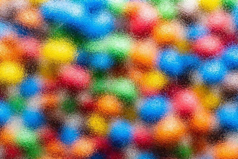 Struttura astratta per progettazione, fondo variopinto - di macchie colorate multi luminose come l'acquerello immagine stock