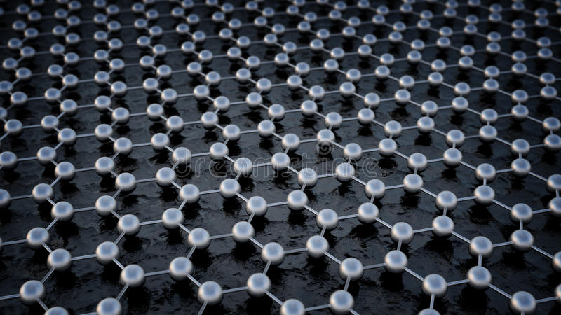 Struttura atomica di Graphene