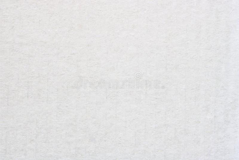 Struttura bianca del cartone o fondo di carta dell'acquerello immagine stock libera da diritti