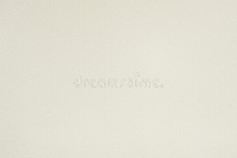 Struttura bianca del fondo della carta dell'acquerello fotografia stock