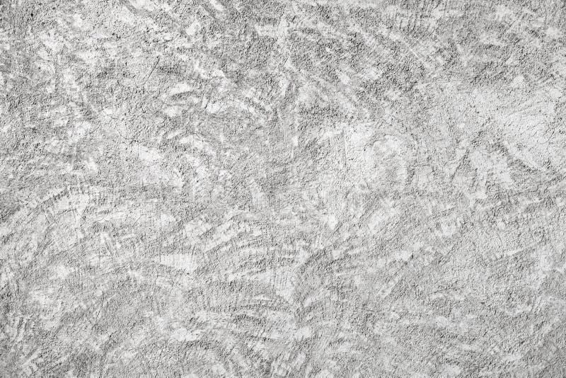 Struttura bianca del muro di cemento del primo piano con il gesso di sollievo fotografia stock libera da diritti