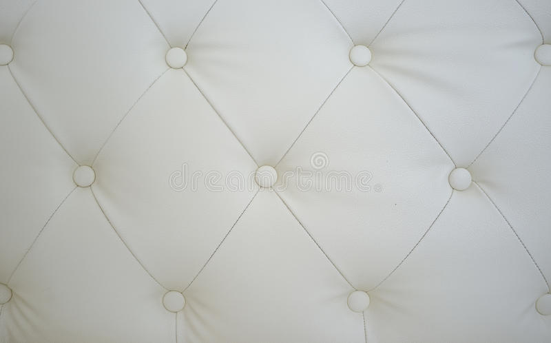 Struttura bianca del sofà fotografie stock