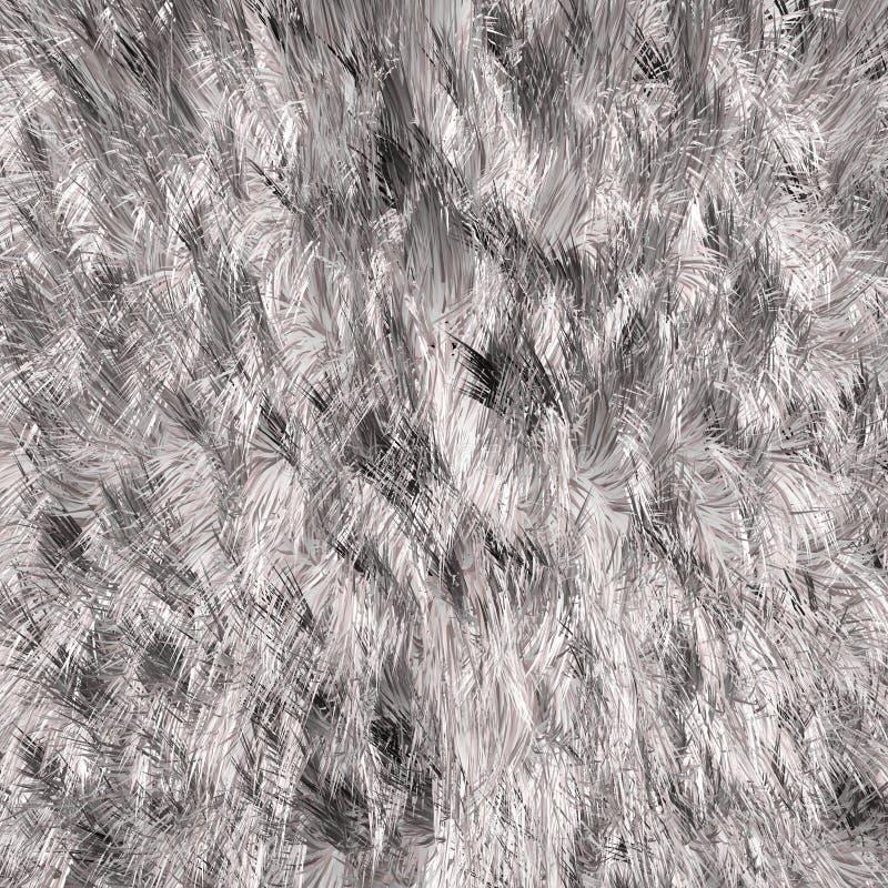Struttura bianca della pelliccia royalty illustrazione gratis