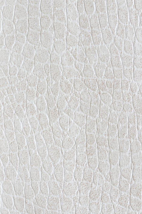 Struttura bianca delle similpelle per fondo fotografia stock